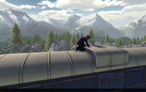 Auf dem Orient-Express
