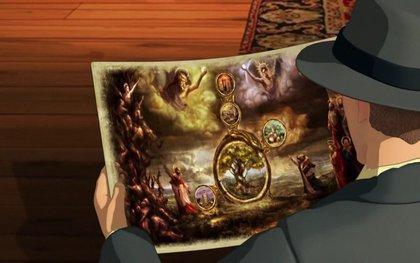 Baphomets Fluch - Gemälde
