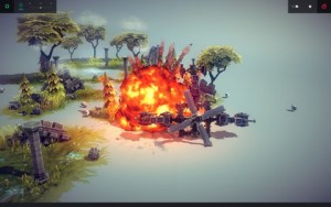 Besiege - explodiert