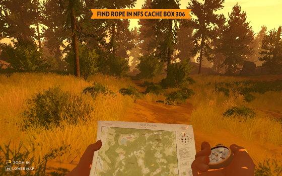 Firewatch-Karte-und-Kompass