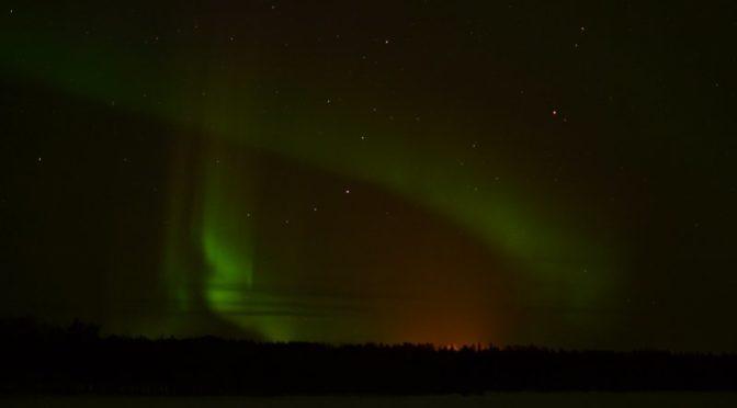 Neulich in Lappland: Polarlicht