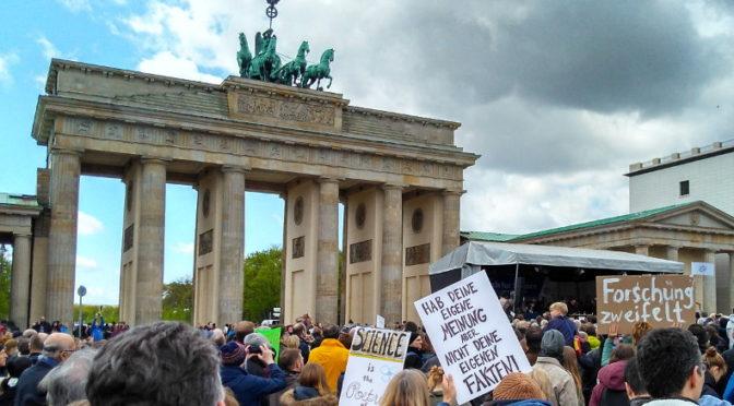 Marsch für die Wissenschaft Berlin